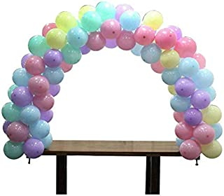 Table Balloon Arch Kit, Adjustable Table Balloon Garland kit, Double Angle Total Length for Weddings Birthday Unicorn Favo...