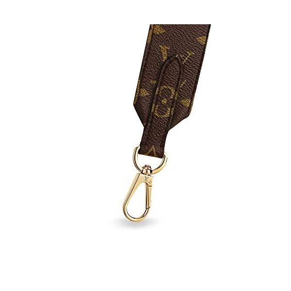 Fashion Shopping Louis Vuitton Handbag Strap Bandouliere Monogram Black J02288