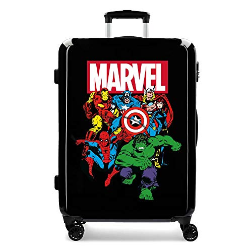 Sky AvengersBlack Medium Hardside Suitcase 68cm