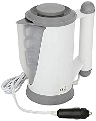 TRAVEL READY HOT WATER KETTLE: Streetwize electric kettle has been designed with the traveller, camper & caravanner in mind. Whether it is covering long distances to reach the office or a vacation destination, a hot cup of tea/coffee is a luxury. Thi...
