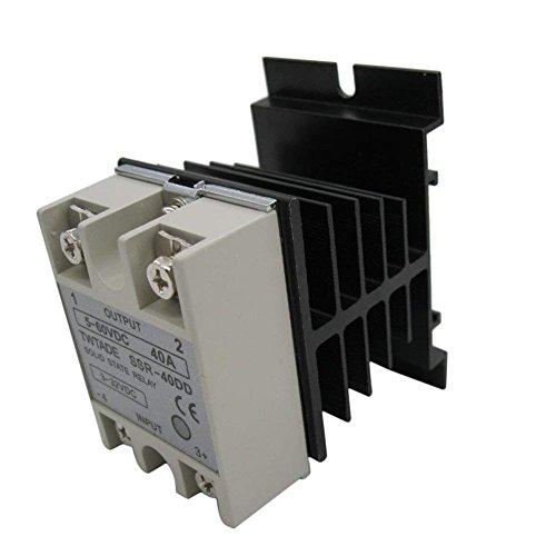 Haobase Controllo Della Temperatura AC 24V-380V Uscita Rel/è A Stato Solido 25A SSR-25DA