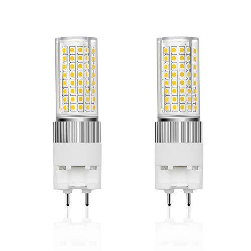 Bonlux G12 LED Lampen 16W Maisbirne Kaltweiß 6000K Glühbirnen AC85-265V Bi Pin Hochhelle Beleuchtung 360° Abstrahlwinkel Maislichter Ersatz 150W (2 Stück Nicht Dimmbar)[Entfernen/umgehen den Ballast]