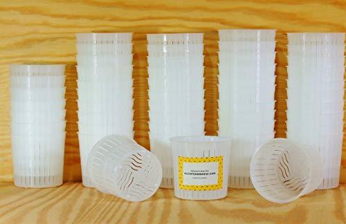 50 x Moule à fromage 5x5cm - 100g - Ricotta | Ricolat | Forme à fromage | Moule à faisselle | Fromage maiso5