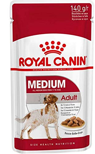 Maltbys' Stores 1904 Limited 20 x 140g ROYAL CANIN MEDIUM AGEING 10+ WET POUCH DOG FOOD (CODE S/O)