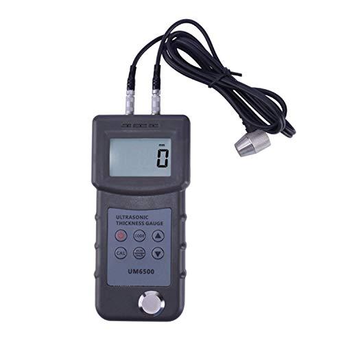 BXU-BG UM6500 portable del calibrador de espesor por ultrasonido digital 1.0-245mm Meter Medidor de espesor de metal, 0.05-8inch (en acero) 0.1mm