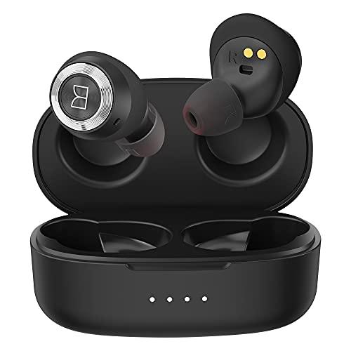 Bluetooth Kopfhörer, Wireless Earbuds Monster Achieve 100, Hi-Fi Stereo Kabellose Kopfhörer, Tiefer Bass In Ear Kopfhöhrer, 25H Wiedergabe, Bluetooth 5.0, IPX5, komfortable Passform, USC-C Charging