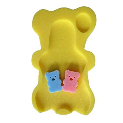 Qinghengyong 9 Colores Esponja del baño del bebé Alfombrilla Antideslizante Mat Esponja Antideslizante bañera Asiento Infantil de baño del cojín del bebé recién Nacido de
