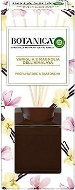 Foto di Airwick Botanica, Profumatore per Ambienti con Diffusore a Bastoncini, fragranza Vaniglia e Magnolia dell'Himalaya, fragranza naturale - Confezione da 80 ml