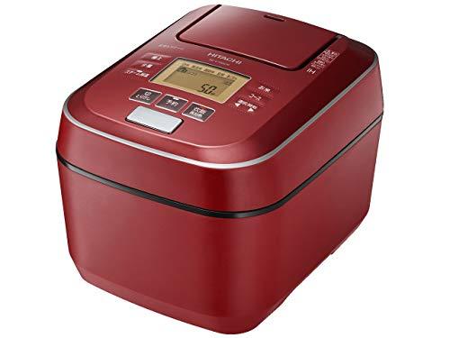 日立 圧力スチームIHジャー炊飯器(5.5合炊き) メタリックレッドHITACHI 圧力スチーム ふっくら御膳 RZ-V100CM-R