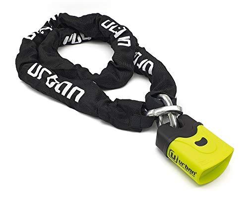 Urban Security U4K170 Cadena Antirrobo Moto Candado Nivel 11, Ø10, Multicolor, 170 Cm