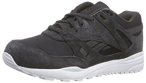 Reebok Ventilator SMB, Chaussures de Running Compétition Fille, Noir/Blanc (Coal/White), 35 EU
