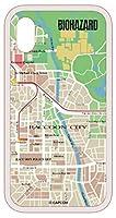 バイオハザード ガラスケース MAP iPhoneX/Xs