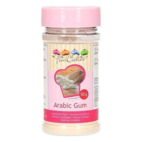 FunCakes Gomme Arabique Ciment Végétale Naturelle Stabilisateur pour Faire de Confiserie Glace Arome Édulcorants 70 g G42935