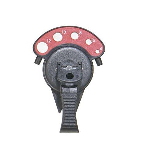 Milwaukee 4932352331 - Guía de perforación de acero para puntas de 5-15 mm