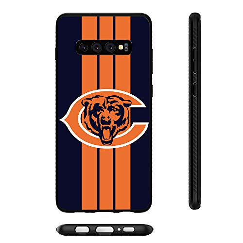 Bears Samsung Galaxy S10 Plus Case Slim Fit Protective Back Cover Anti-Skid Hybrid Soft Grip Premium TPU Rubber Shockproof Anti-Scratch Textured Panel Shell for Galaxy S10+ 6.4 inch