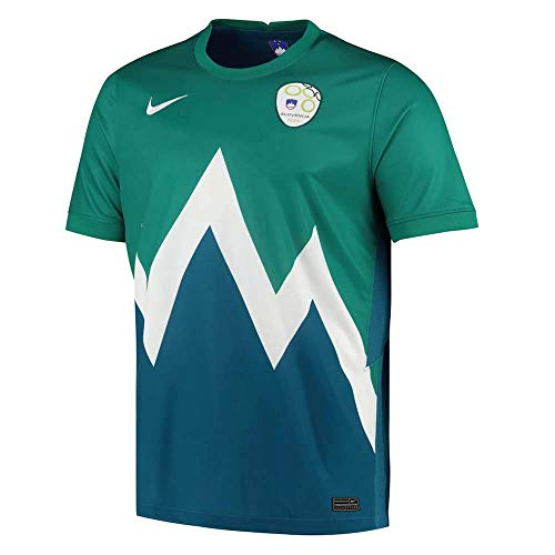 of nike soccer shirts Nike 2020-2021 Slovenia Away Football Soccer T-Shirt Jersey