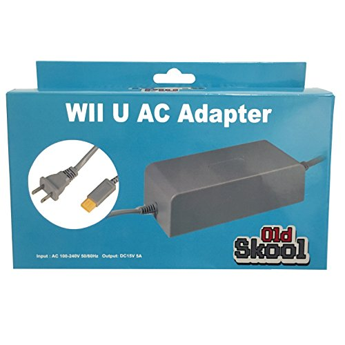 Old Skool Wii U Console AC Adapter Power cord