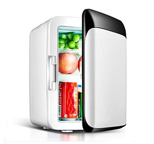 Fridge Mini-koelkast voor in de auto, 10 liter, met vriesvak, mini-kleine huishoudkoeling