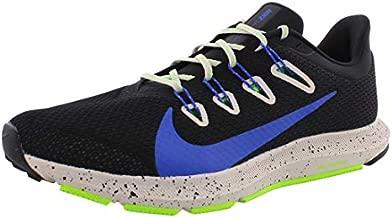Nike Men's Trail Running Shoes, Multicolour Black Racer Blue Desert Sand 1, 10