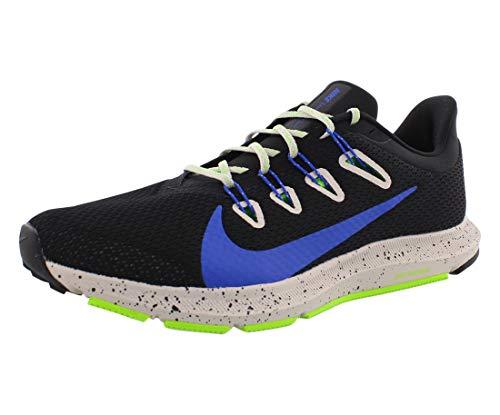 Nike Men's Trail Running Shoes, Multicolour Black Racer Blue Desert Sand 1, US:5