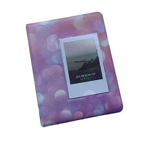 ZHOUBA - Álbum de fotos (64 bolsillos, 7,6 cm) rosa