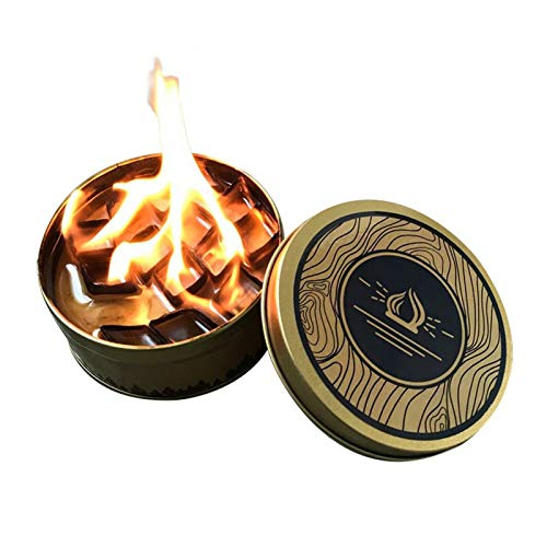 UNA Outdoor Fire Pit,Portable Outdoor Garden Easy Lighting Fire Pits Travel Camping Tank Heating Fire Box