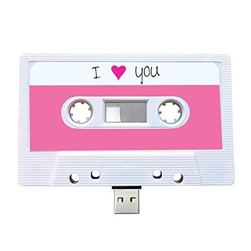 (8 GB) USB-Mixtape, Retro, Quirky Geschenk, Freund, JaFreundin, Geburtstag, Hochzeit, hrestag, Valentinstag, Weihnachten, Flash-Laufwerk