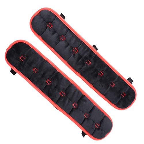 BESPORTBLE 1 Paar Stuhlgriffabdeckungen Armlehnenschutzabdeckungen Griff Stoffschutz für Büro zu Hause