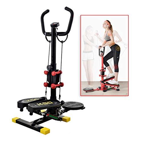 LRZLZY Calorie Domestica Silenziosa Stepper Coperta Mini Cyclette Attrezzature For Il Fitness Ellittica Movimento Bruciato Può Sopportare 100Kg Prestazioni Perfette