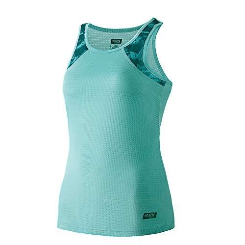 42K RUNNING - Camiseta técnica Tirantes 42k Ares Summer para Mujer Mint