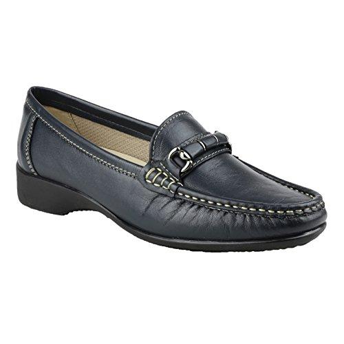 Cotswold Barrington Damen Schuhe/Loafer/Mokassins (39 EUR) (Marineblau)