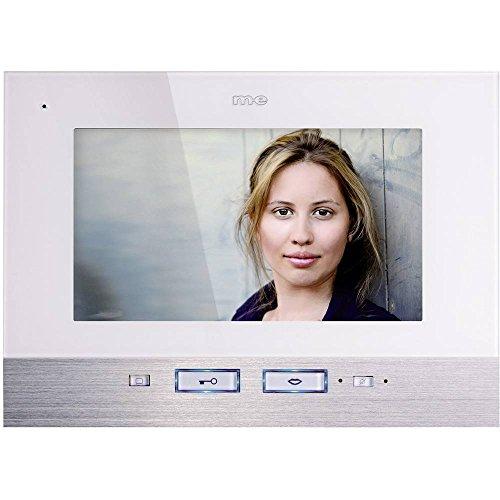m-e modern-electronics VDV 507 WW Video-Türsprechanlage Kabelgebunden Inneneinheit 1 Familienhaus W