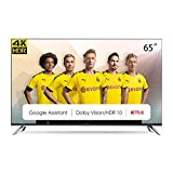 CHiQ U65H7A, 65 Pouces(165cm), Android 9.0, Smart TV, UHD, 4K, WiFi, Bluetooth, Google Play Store,Google Assistant, Chromecast bulit-in, Netflix, Video, Triple tunner, Hdmi, USB