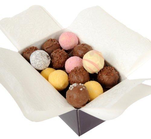 24 Trüffel Ballotine - Schokoladentrüffel, Luxus Trüffel - Hochwertige Schokolade