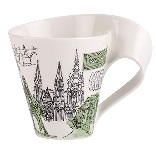 Villeroy & Boch 10-1625-5031 Cities of the World Kaffeebecher, Premium Porzellan, grün