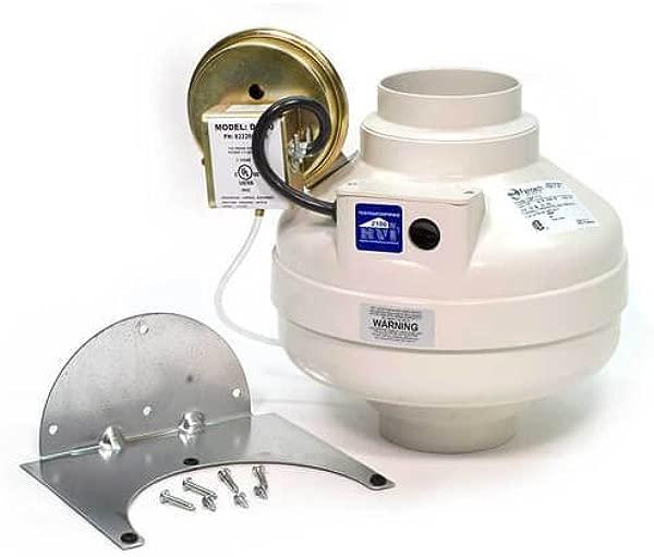 Fantech DBF 110 Dryer Booster Fan 4 Duct 167 CFM