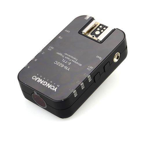 Yongnuo Single - Transceptor de Disparador Flash YN622 YN-622C TTL con HSS para Canon