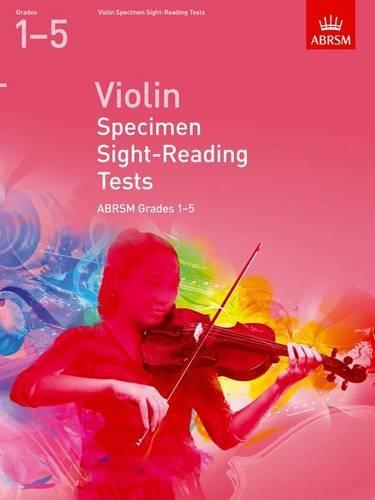 Violin Specimen Sight-Reading Tests, ABRSM Grades 1-5: from 2012 (ABRSM Sight-reading)