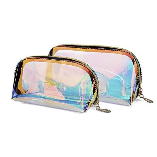 DSGJ Maquillage voyage Petits sacs cosmétiques sac de cas for les femmes organisateur poche maquillage TPU transparent beauté Organisateur Pouch (Size : S)