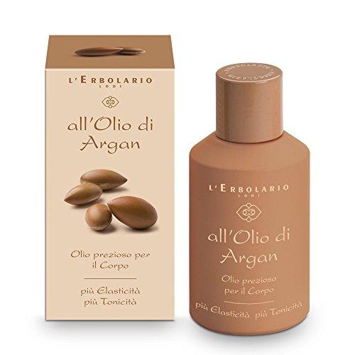 L 'erbolario Olio di Argan di alta qualità, speciale Olio per il Corpo, 1er Pack (1X 125ML)