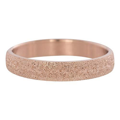 iXXXi Füllring SANDGESTRAHLT rosé - 4 mm Größe Ringgröße 18