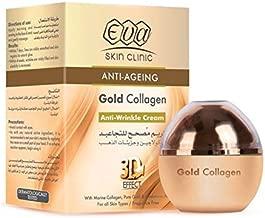 Eva Anti-Ageing Gold Collagen Anti Wrinkle Cream 3D Effect 50 ml Fragrance Free