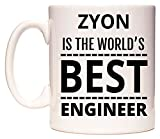 ZYON Is The World's BEST Engineer Tazza di WeDoMugs
