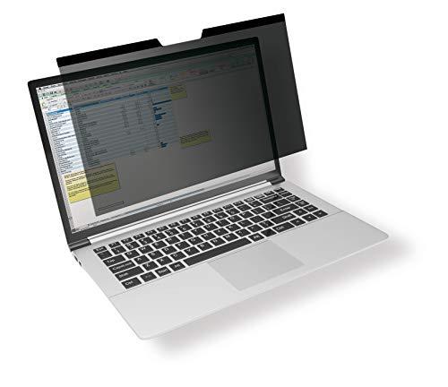 Durable 515257 Filtre de confidentialité magnétique pour MacBook Air 13 avec pochette et chiffon de nettoyage Anthracite