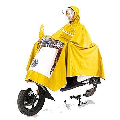 Regenponcho Regencape Regenmantel Regenjacke Wetterjacke Erwachsene Männer Und Frauen des Elektromotorrads Einzeln Reiten Doppelseitige Abdeckung, Um Regenmantel Zu Erhöhen GMING