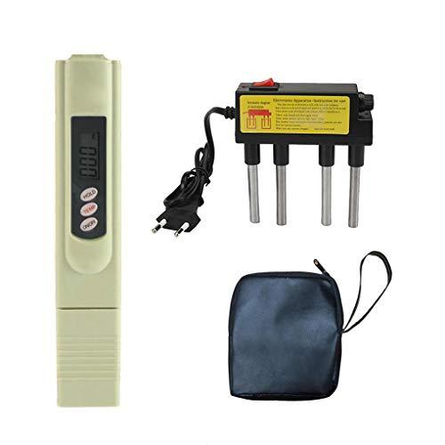 Medidor de TDS TDS del agua Electrolyzer Prueba de electrólisis Digital Pen filtro de calidad del agua Pureza Nivel probador de enchufe de la UE Regard