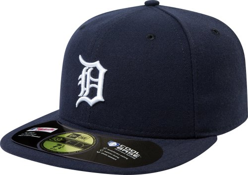 New Era Casquette MLB Home Authentic Collection on Field 59FIFTY, Homme, ACPERF DETTIG HM, Detroit Tigers, 6 7/8