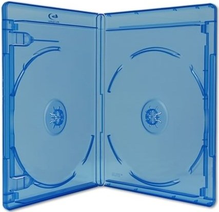 Viva Elite Blu Ray 2Disc Doppel Hüllen Slim 6mm–10Stück.