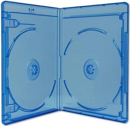 Viva Elite Double Blu Ray 2 cajas de discos delgadas, 6 mm, 5 unidades