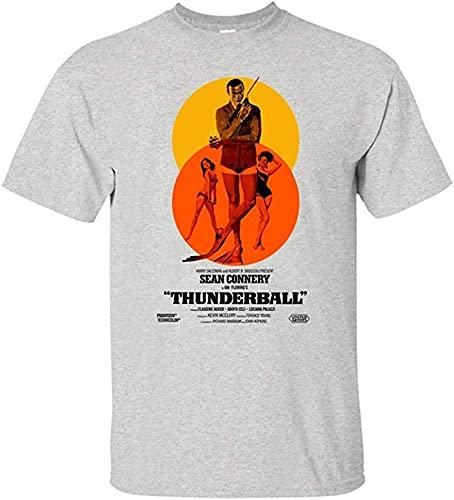 Purt Thunderball, 007, Sean Connery, Retro, James Bond, T-Shirt_1201